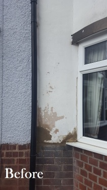 Bit of Mortar work