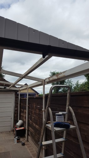 Carport Before